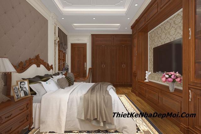 Thiết kế phòng ngủ tân cổ điển 9432