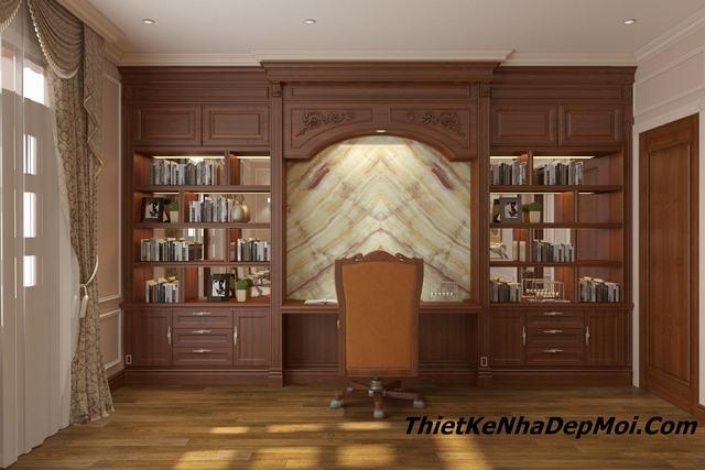 Bản vẽ thiết kế nội thất biệt thự