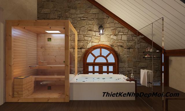 Phòng xông hơi mini 18m2