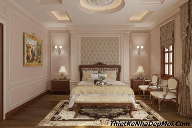 Phòng ngủ kiểu châu âu