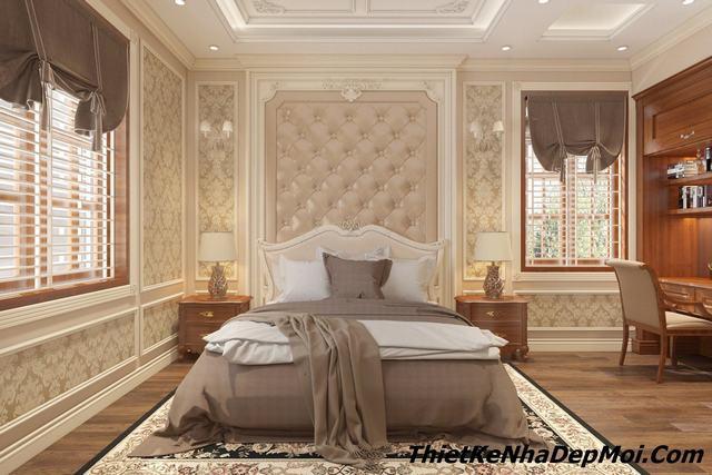 Trang trí phòng ngủ tân cổ điển