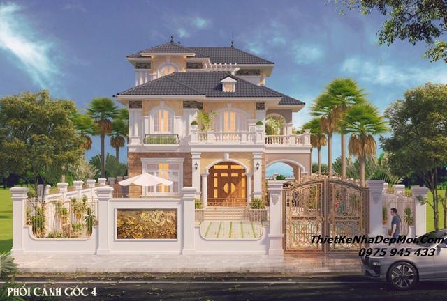 Biệt thự vườn 2 tầng hướng Đông Nam đẹp nhất 2020
