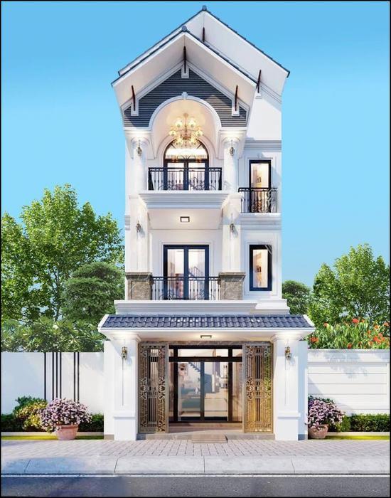 Nhà đẹp 5x20 3 tầng