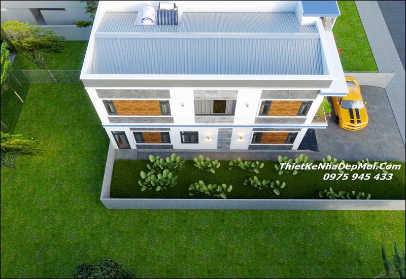 nhà 2 tầng 7x10m giá rẻ