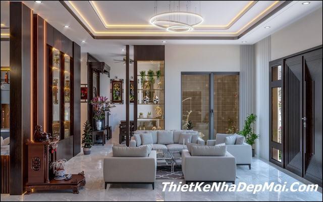 Thiết kế nội thất nhà cấp 4 hiện đại