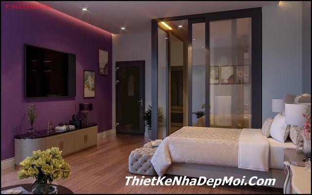 Phòng ngủ hiện đại master 2020
