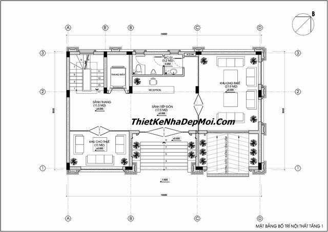 Tiêu chuẩn thiết kế tòa nhà văn phòng