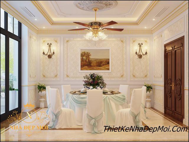 Thiết kế phòng ăn nhà hàng cao cấp