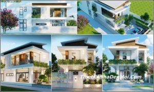 Những mẫu nhà 2 tầng hiện đại HOT nhất