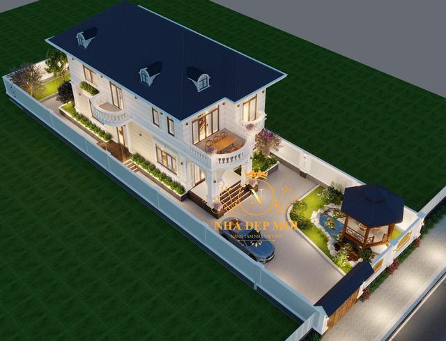 Nhà đẹp hiện đại 2 tầng