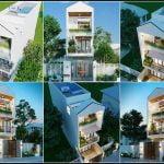 mẫu nhà lệch tầng 4x16, Mẫu nhà lệch tầng 4×16 1 trệt 2 lầu sân thượng anh Đại, Công ty thiết kế xây dựng Nhà Đẹp Mới, Công ty thiết kế xây dựng Nhà Đẹp Mới