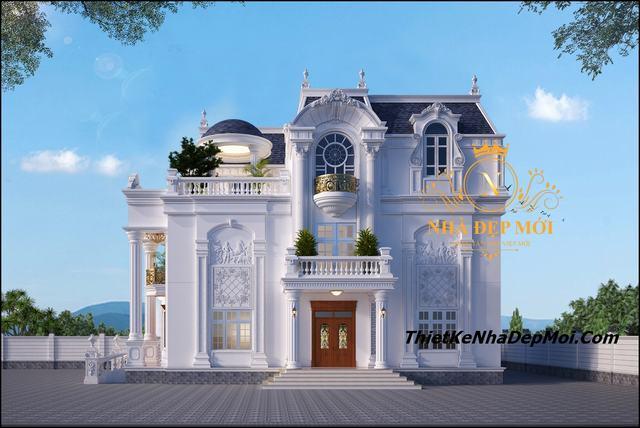 Biệt thự bán cổ điển đẹp nhất