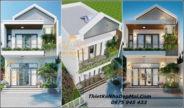 Nhà 1 trệt 1 lầu 6x15
