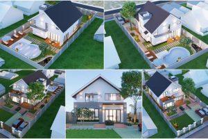 Thiết kế nhà có tầng lửng