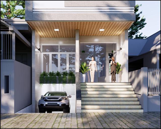 Mẫu thiết kế căn hộ mini bình dân