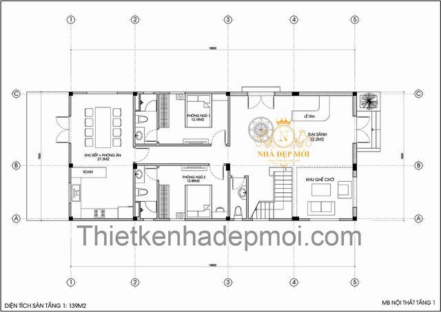 Tiêu chuẩn thiết kế nhà nghỉ mini