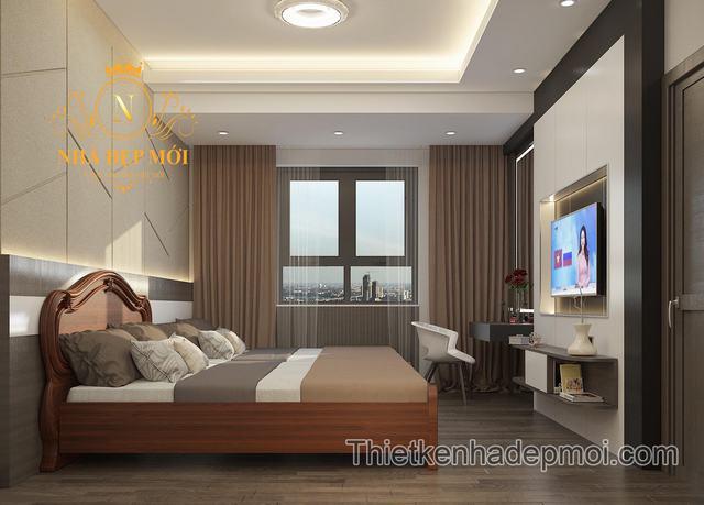 Cách trang trí nội thất phòng ngủ chung cư