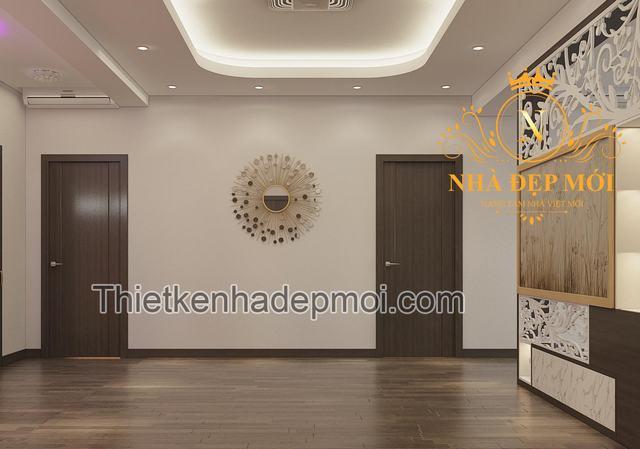 Thiết kế nội thất chung cư Hà Nội anh Hải 120m2