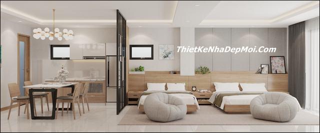 Nội thất căn hộ dịch vụ đẹp hiện đại