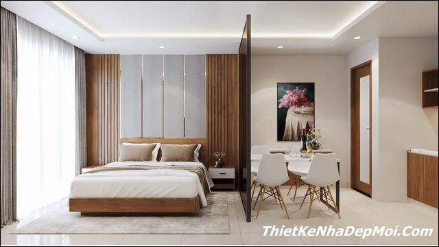 nội thất căn hộ 1 phòng ngủ tại Đà Nẵng