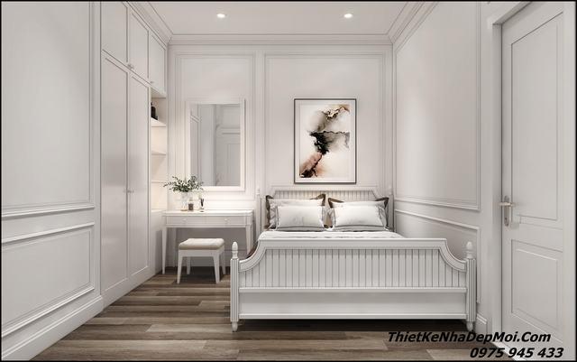Nội thất phòng ngủ nhà mái thái