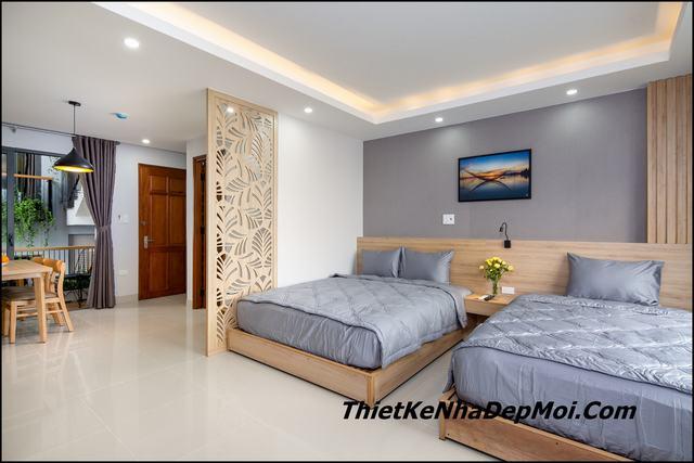 Thiết kế căn hộ cho thuê 50m2