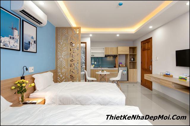 nội thất căn phộ 2 phòng ngủ thiết kế thi công tại Đà Nẵng