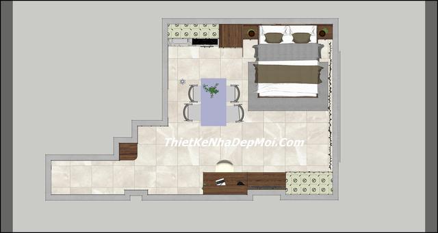 Căn hộ chung cư mini 40m2