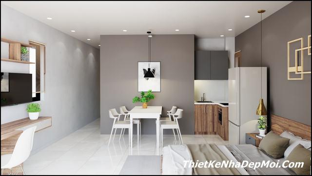 Thiết kế căn hộ nhỏ đẹp đà nẵng