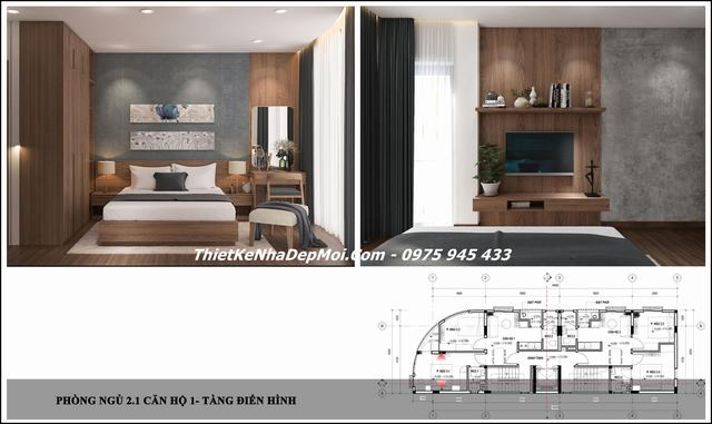 thiết kế căn hộ đà nẵng tại Ngũ Hành Sơn