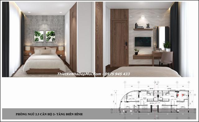 Trang trí nội thất căn hộ giá rẻ 2021