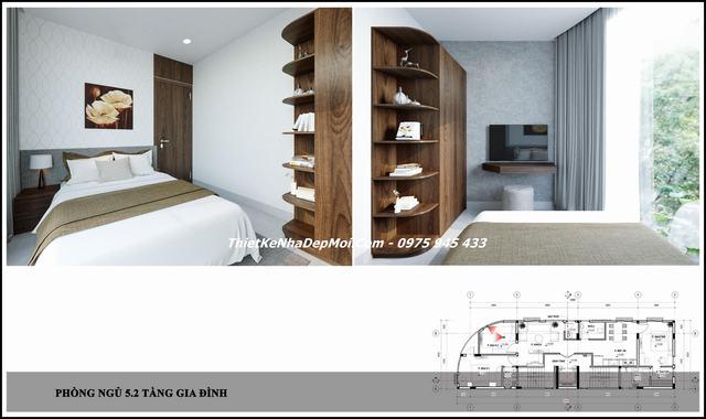 Thiết kế nhà ở kết hợp căn hộ cho thuê