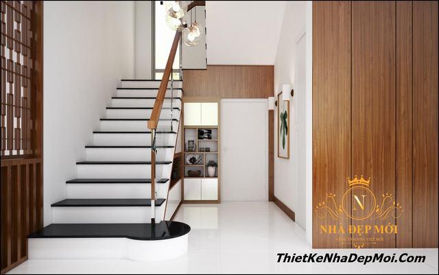 thiết kế nội thất nhà biệt thự hai tầng 130m2