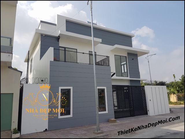 Xây nhà biệt thự đẹp tại Bình Phước