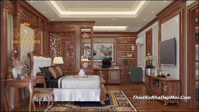 Nội thất phòng ngủ gỗ