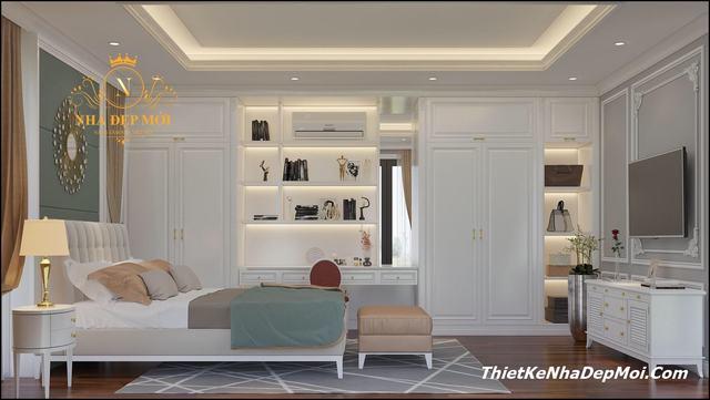 nội thất phong cách tân cổ điển 2020