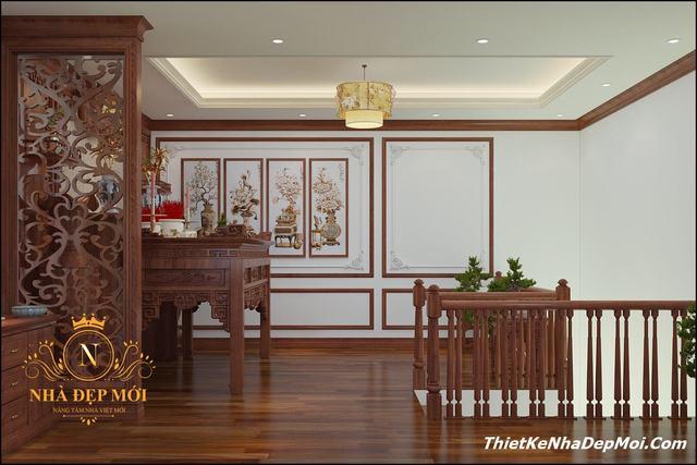 Nội thất gỗ cho phòng thờ
