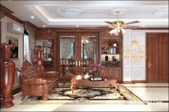 Trang trí nội thất gỗ 2020
