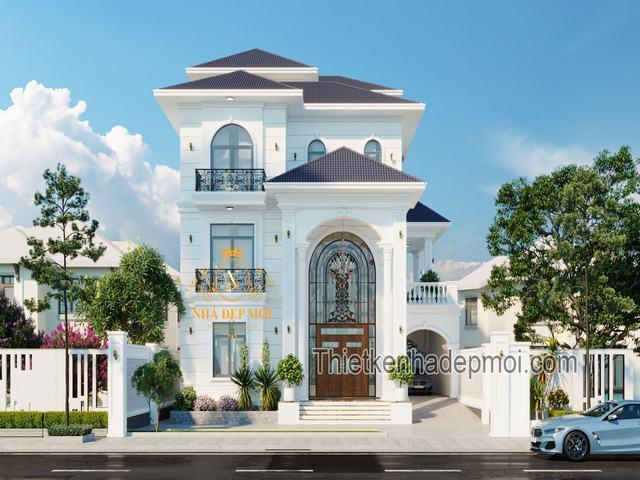 Biệt thự có tầng lửng đẹp nhất Việt Nam