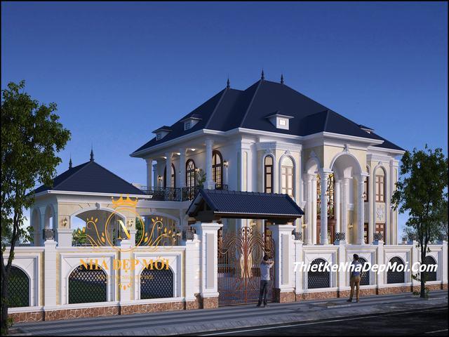 Nhà theo phong cách châu âu