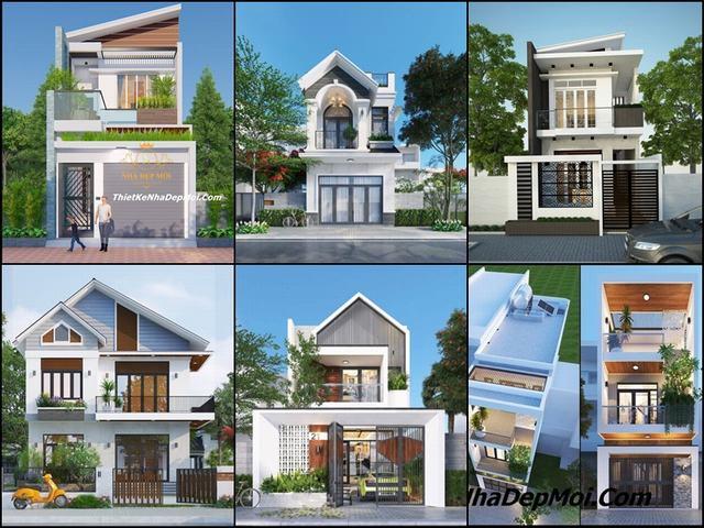 Những mẫu nhà 1 trệt 1 lầu đơn giản 2021