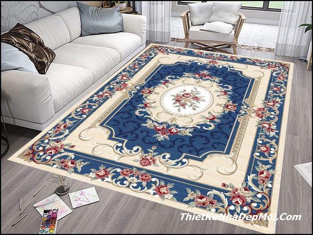 Thảm lông trải sàn đẹp