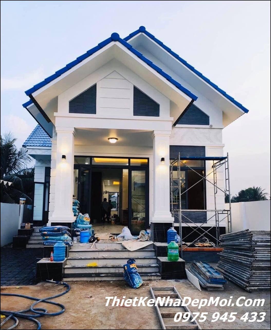 đơn giá xây nhà trệt trọn gói 2021