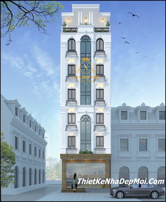 khách sạn 8 tầng mặt tiền 7m 4 sao