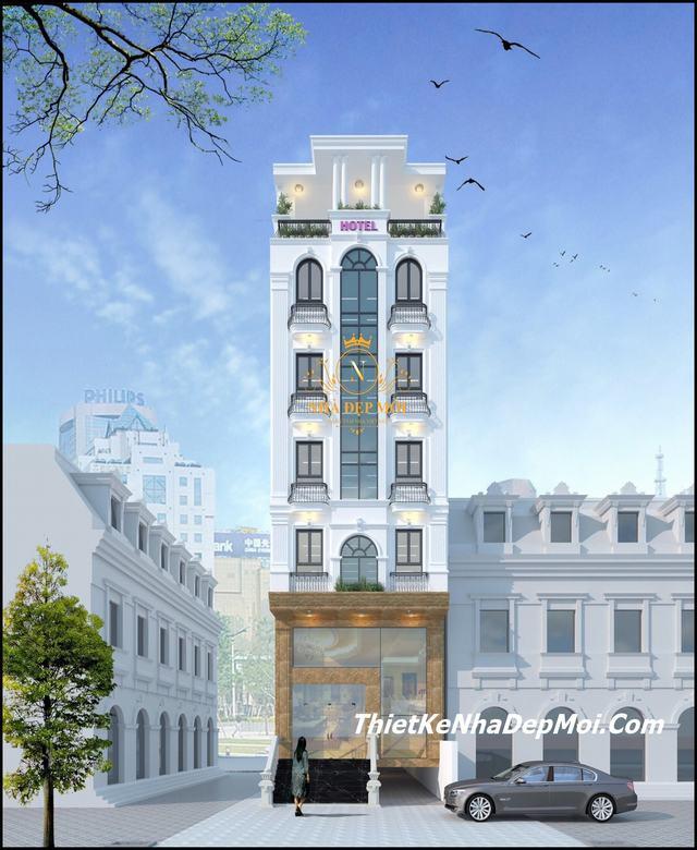 Tiêu chuẩn thiết kế khách sạn 4 sao 81 phòng ngủ