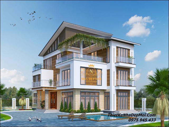 Mô hình biệt thự đẹp năm 2021
