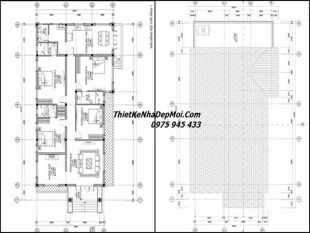 Nhà 1 tầng ngang 10m 4 phòng ngủ 10x20