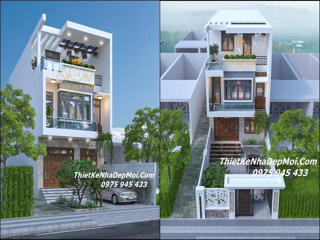Những mẫu nhà phố đẹp nhất năm 2021