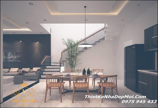 Nội thất nhà phố đẹp tại Đà Nẵng