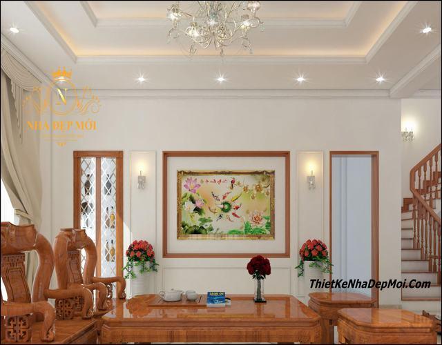 Nội thất gỗ phòng khách